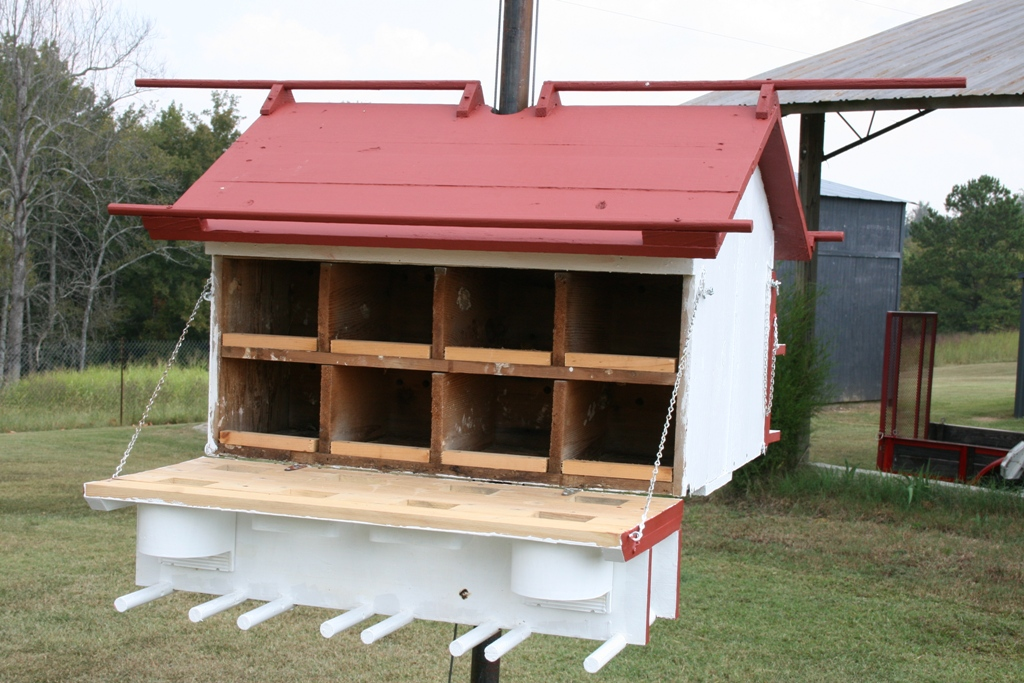 Purple martin house for Martin house designs