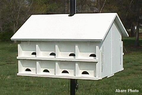 Purple Martin Bird House Plans - Bird Watching Information | Free