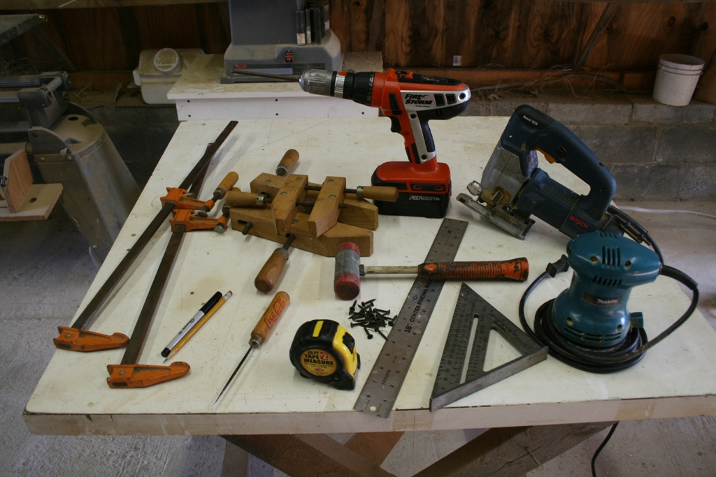 tools to build a house